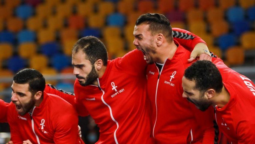 فيديو  فراعنة اليد يتأهلون لربع نهائي كأس العالم