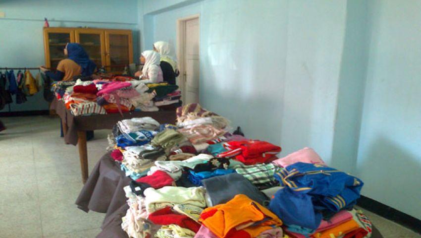 افتتاح معرض خيري للملابس بالإسماعيلية
