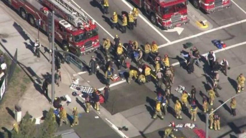 فيديو.. مقتل 14 شخصا في هجوم على منشأة للمعاقين بكاليفورنيا