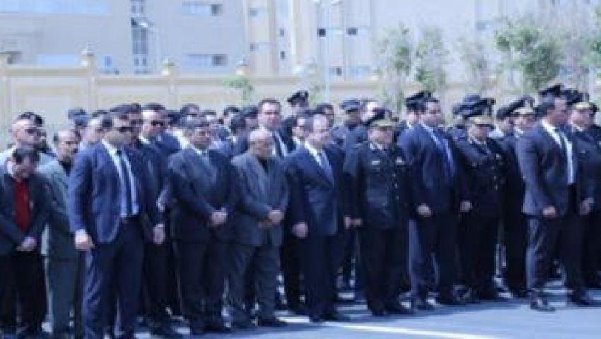 وزير الداخلية يتقدم جنازة النقيب معتز مصطفى عبد العزيز