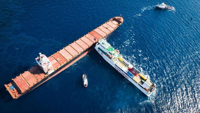 ذا صن: سفينة تونسية وراء تسريب 600 طن وقود بالبحر المتوسط