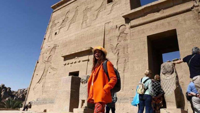 فيديو| منذ استئناف حركة السياحة.. 1.4 مليون سائح زاروا مصر