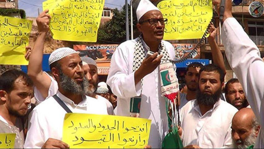 مسيرة لنصرة غزة تتحول لمطاردة بين متظاهرين والأمن الجزائري