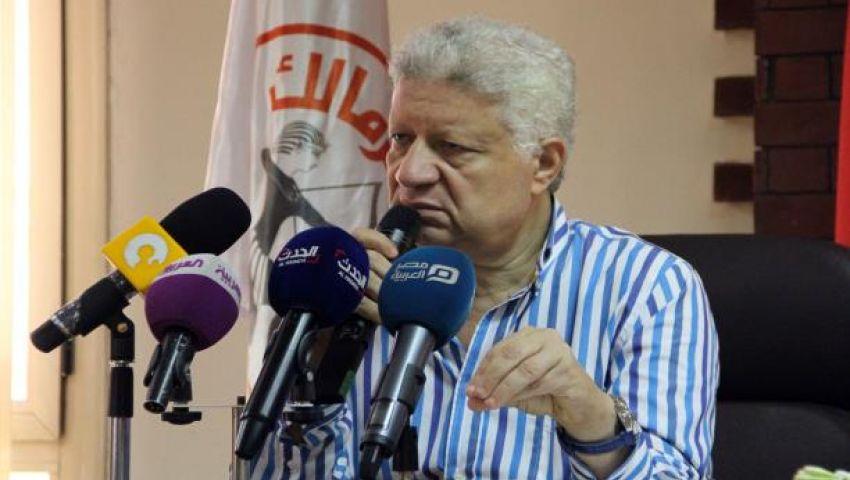 فيديو: مرتضي منصور لـ سيد مشاغب: لو راجل تعالى مسيرة  شبرا