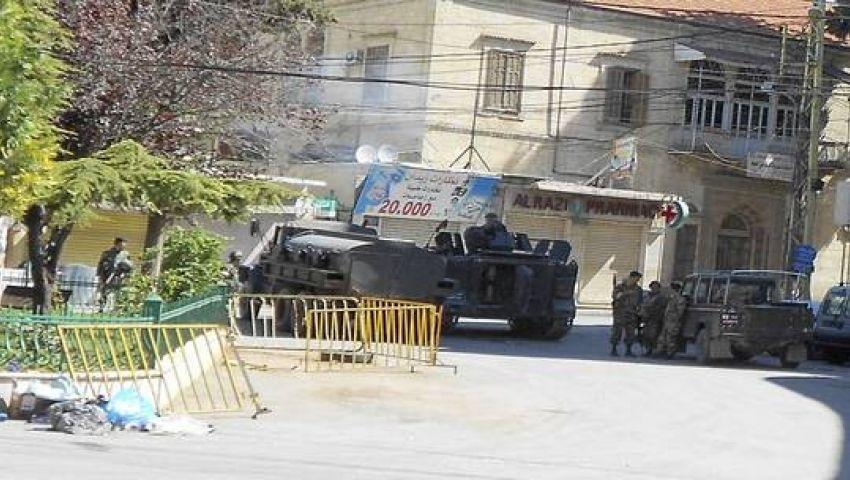 لبنان  خلاف فردي بتحول لاشتباكات بـ أر بي جي .. والجيش يتدخل