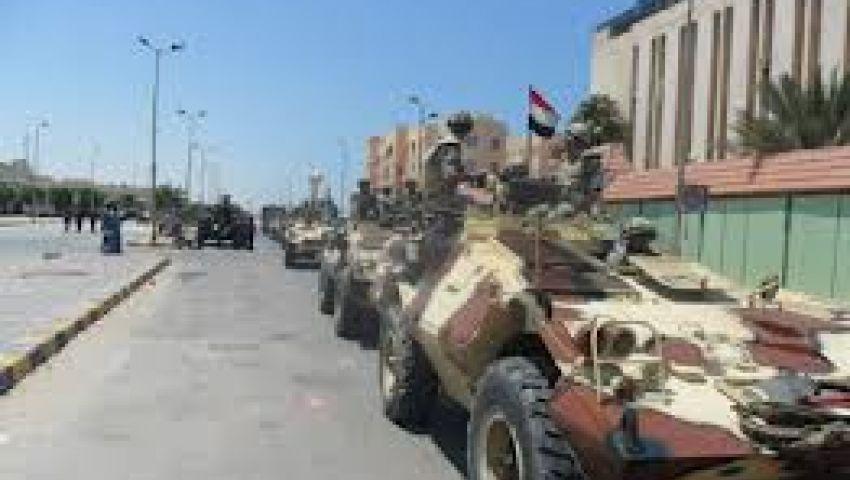 الدفع بقوات إضافية إلى سيناء لتطهير جبل الحلال