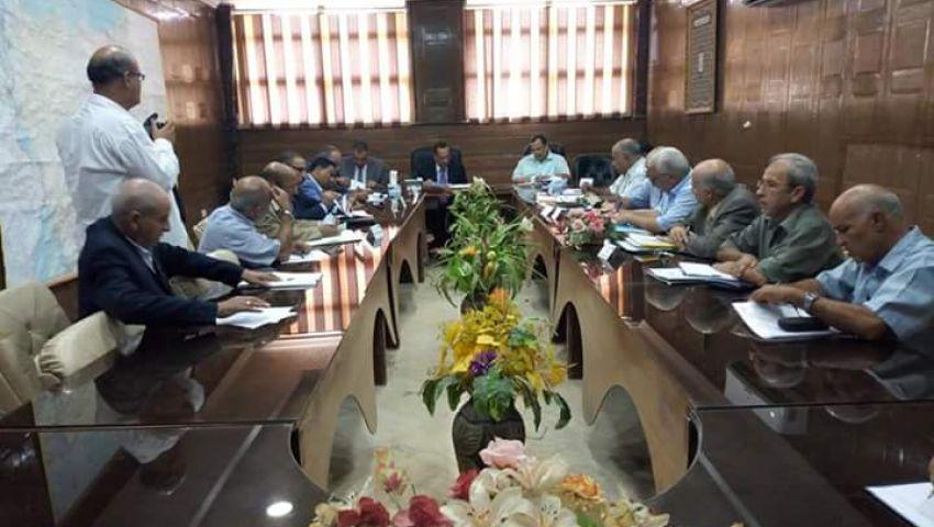 (صور) تفاصيل لقاء محافظ شمال سيناء بلجنة مشروعات الوكالة الأمريكية