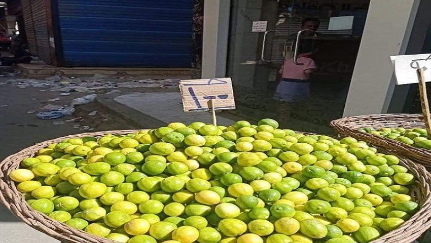 بعد وصوله 100 جنيه.. نقابة الفلاحين تعلن انخفاض أسعار الليمون