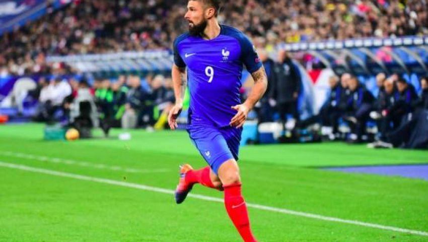 جيرو يثبت أهميته لفرنسا مرة أخرى