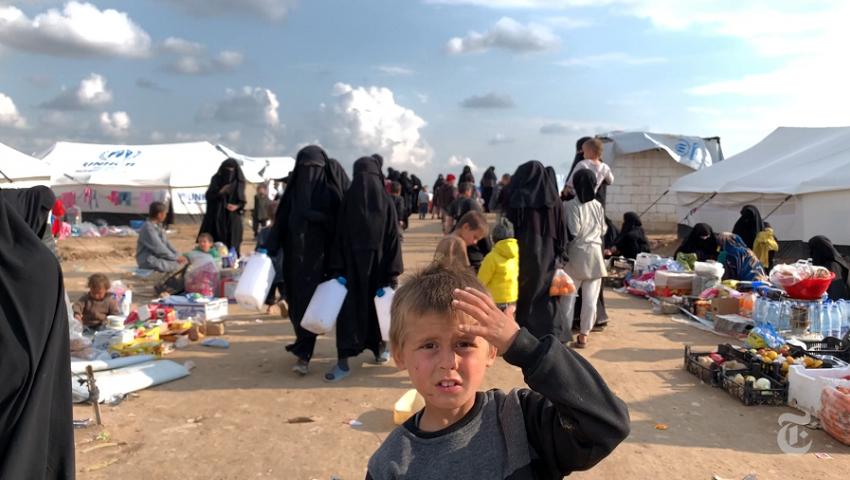 صوت أمريكا: عزل أطفال داعش قنبلة موقوتة