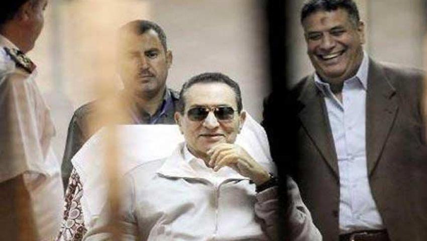 مصادر.. مبارك سيتوجه من السجن لقصره بشرم الشيخ