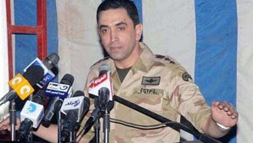 المتحدث العسكري: فرض حالة الطوارئ بيد منصور