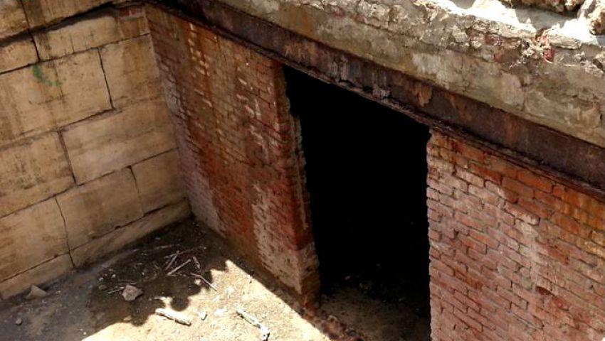 بالصور ..وزير الآثار:عمال المنتزه اكتشفوا سرداب سري في الحديقة