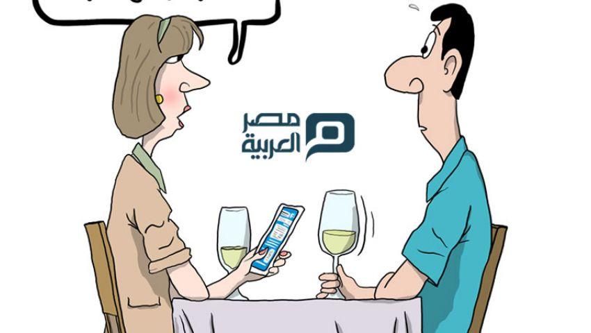 كاريكاتير : إعلانات فيسبوك