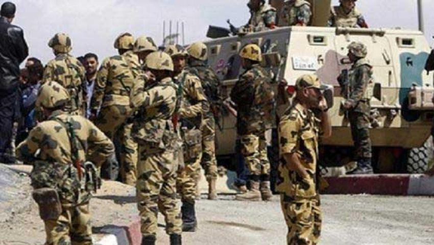 القوات المسلحة تعزز من تواجدها في أسيوط