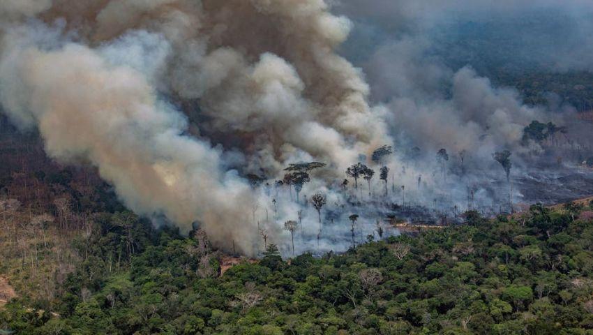 البرازيل  «أمنستي»: تقاعس الحكومة يؤجج حرائق الغابات في شتى أنحاء الأمازون