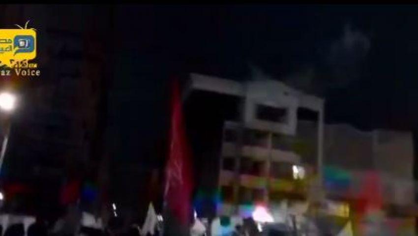 فيديو..لحظة إحراق القنصلية السعودية بإيران