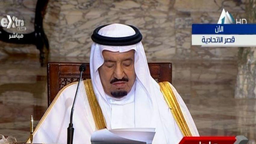 فيديو.. الملك سلمان يعلن إنشاء جسر بري بين مصر والسعودية