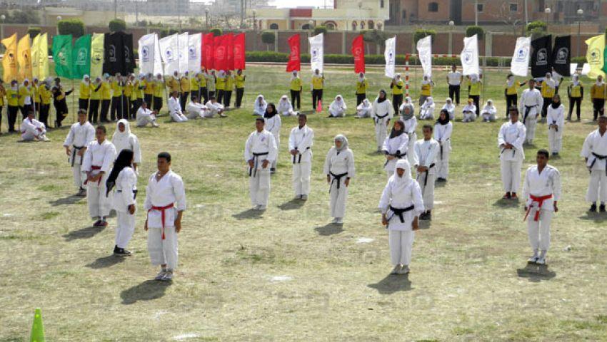625 طالبا يسحبون أوراق القدرات بجامعة بني سويف
