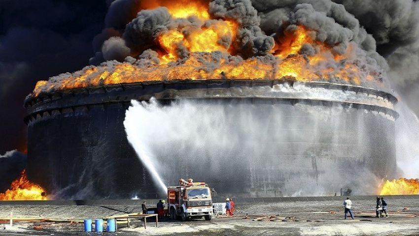 أذربيجان.. مصرع 32 عاملا في حريق بمنصة نفطية