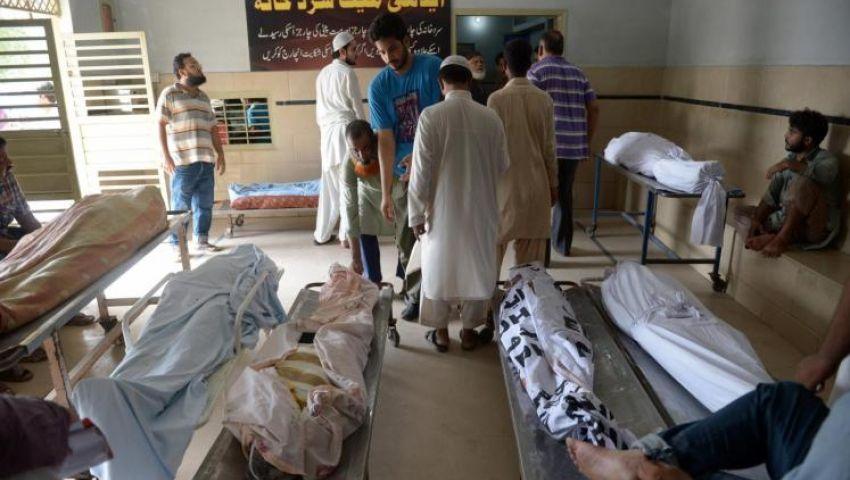 ارتفاع ضحايا موجة الحر بباكستان إلى 1200 شخص