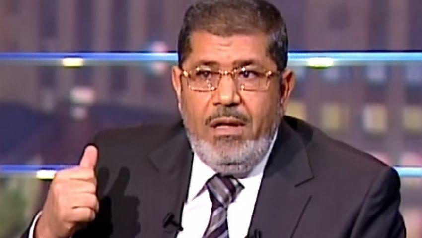 مرسي يستقبل رؤساء الهيئات القضائية الجدد الأسبوع المقبل