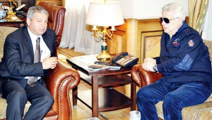 تأجيل اجتماع مرتضى منصور مع وزير الرياضة