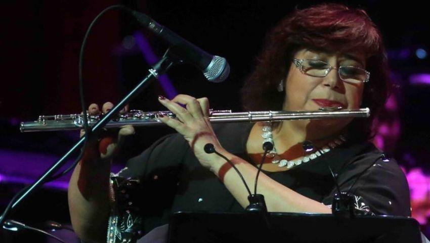 إيناس عبد الدايم تعزف سيمفونية غائبة في الأوبرا