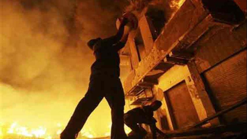 اشتباكات في 5 مدن وحرق مقر للإخوان