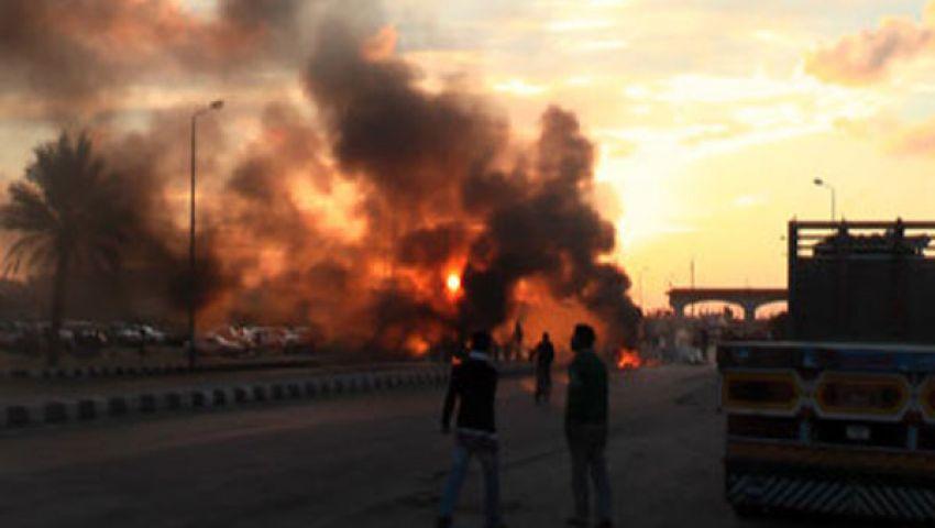 مسلحون يهاجمون قسم الشيخ زويد بأسلحة ثقيلة