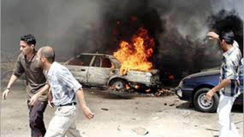إصابة 7 بينهم شرطيان بانفجار سيارة مفخخة ببغداد