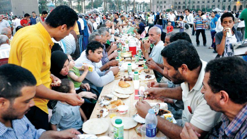 «مصر بتفطر في العاصمة».. مائدة رمضانية على أبواب موسوعة جينيس