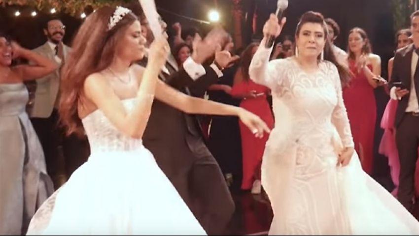 فيديو| أغنية فرح ابنتها الأعلى مشاهدة.. نشوى مصطفى: باي باي يا عيون ماما