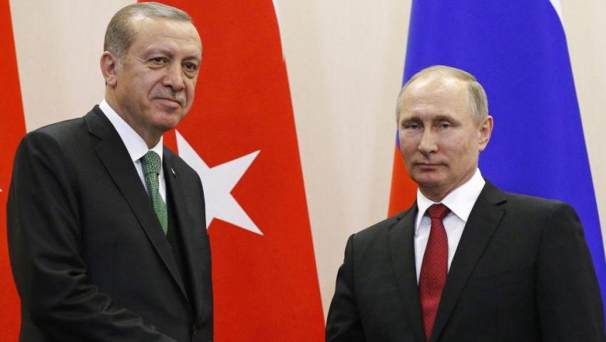 أردوغان وبوتين يبحثان انتشار الجيش السوري في مناطق العمليات التركية