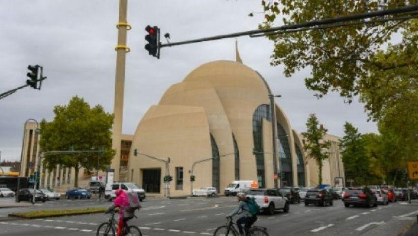 «AFP»: وسط احتجاجات واسعة.. أردوغان يفتتح مسجدا في كولونيا