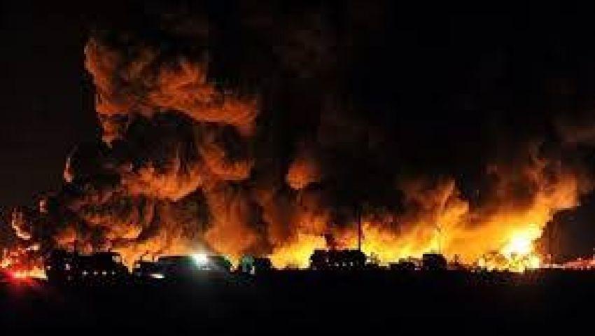إصابة 4 بانفجار وحريق في مواقع حساسة بطهران