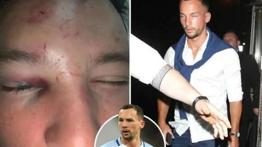 صور | لاعب تشيلسي يتعرض لضرب مبرح بعد واقعة تحرش