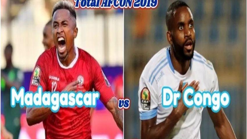 تعرف على التشكيل الرسمي لمباراة مدغشقر والكونغو