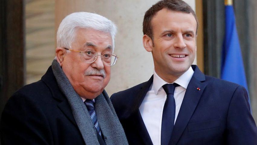 اتفاق إبراهيم.. ماكرونلـ عباس:استئناف مفاوضات السلام لا يزال أولوية