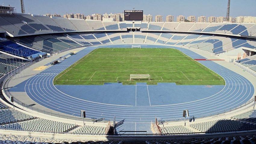 ستاد القاهرة يعلن موعد جاهزيةالملعبلاستضافة مباريات أمم إفريقيا