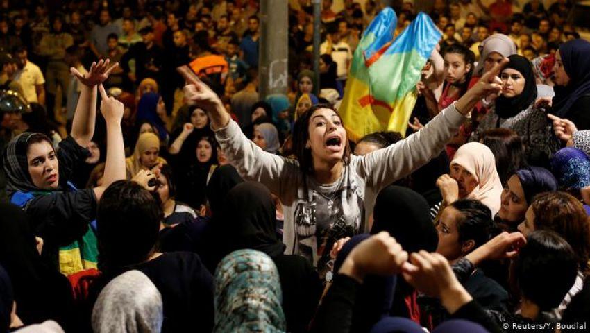 مطالبين بالإفراج عن المعتقلين.. حراك الريف يهز المغرب