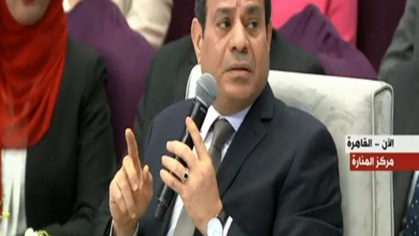 السيسي: 2011 غلطة بندفع ثمنها.. ولم تكن لتبنى سدود على النيل إلا بعدها
