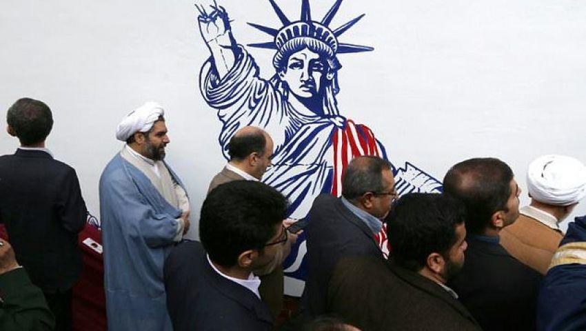 الفرنسية: جداريات جديدة على سور سفارة أمريكا السابقة بطهران تشعل التوتر