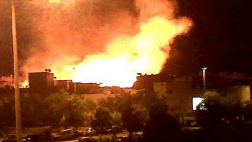انفجار جنوب العريش