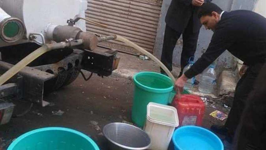 كسر مفاجئ في خط رئيسي.. قطع المياه عن عدة مناطق بالجيزة في العيد
