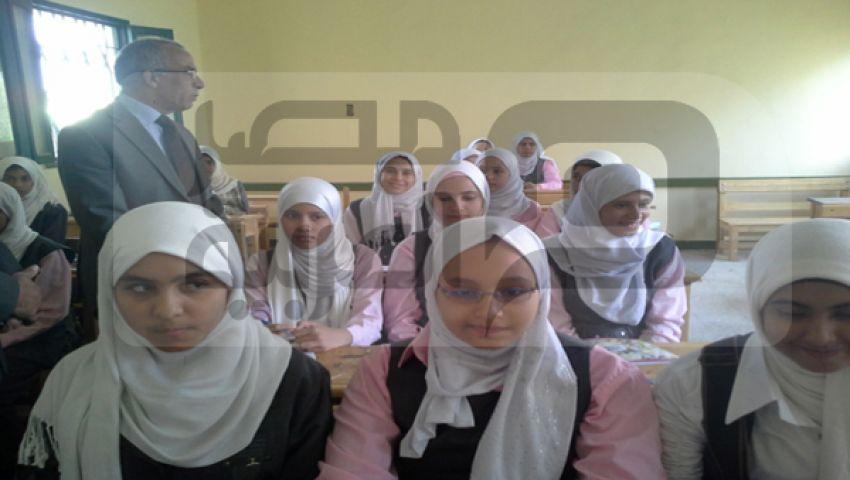 بالصور ..  مصر العربية  ترصد وقائع أول يوم دراسي بشمال سيناء
