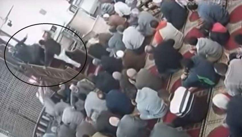 فيديو| القصة الكاملة لاعتداء مهندس على إمام مسجد بالإسكندرية