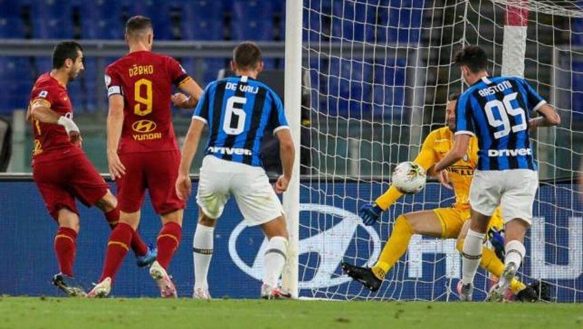 مواعيد مباريات الأحد| روما يواجهإنتر ميلان..ويوفنتوس ضدساسولو