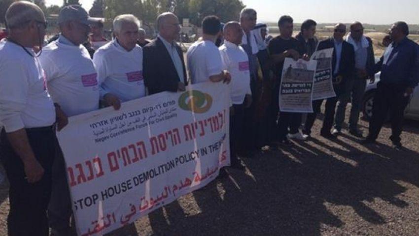مسيرة من أجل الاعتراف بـ40 قرية عربية في النقب