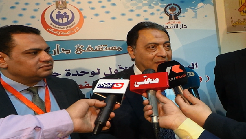 وزير الصحة: محلات الحلوى سبب عدم وصول ألبان الأطفال لمستحقيها